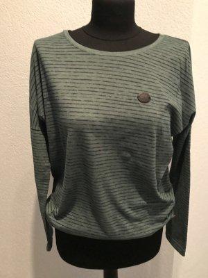 Naketano Camisa larga caqui-verde oscuro