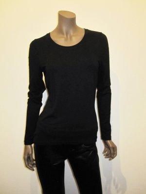 Langarmshirt von OUI, schwarz, Basicshirt
