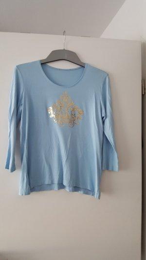 Sarah Kern Shirt met print azuur