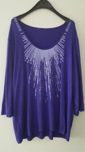 Sarah Kern Camisa tipo túnica lila