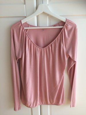 Langarmshirt von sOliver in rosa