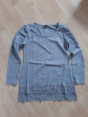 Street One Oversized Shirt grey