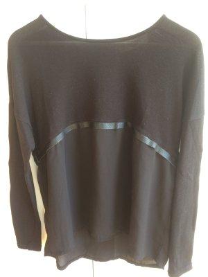 Langarmshirt von Vero Moda im Materialmix