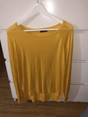 Zara Camisa larga naranja dorado