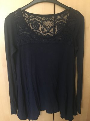 Langarmspitzen T-Shirt