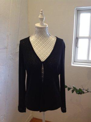 Langarmweste von Street One in Gr. 36, schwarz, knitterfrei
