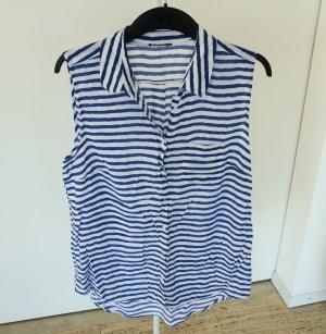 Lange ärmellose Bluse, C&A, Größe 44, Tasche links