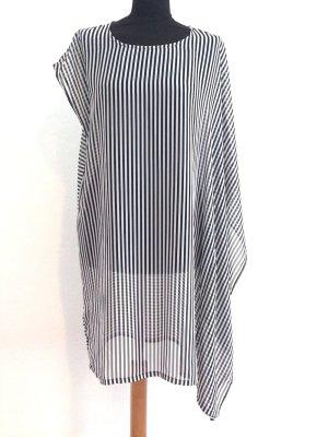 Lange, asymmetrisch geschnittene Bluse/Kleid von Monki, Gr. S (36/38)