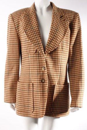 Lange Bergdorf Goodman Vintage-Blazer Pepitamuster