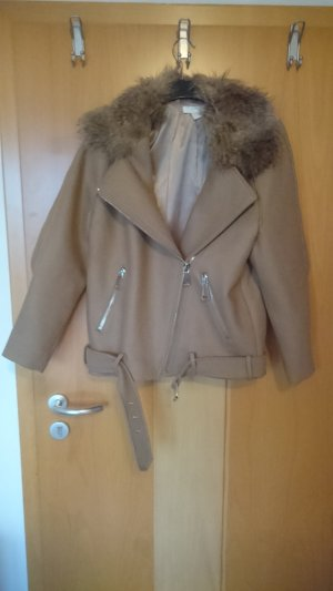 H&M Oversized Jacket light brown