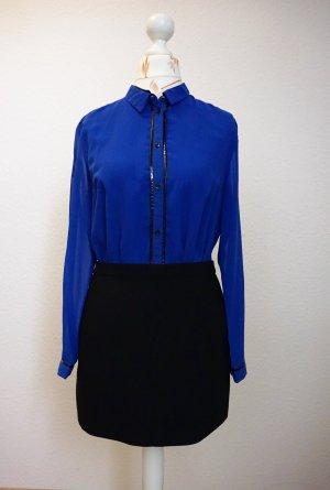 lange, blaue Bluse, oversized von s.Oliver fashion hero