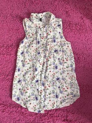 H&M Cuello de blusa multicolor