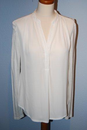 lange Bluse in creme / offwhite von H&M Gr. M (38) - neu!