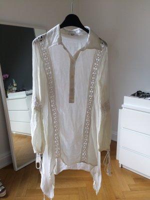 Lange Bluse mit Spitze und Tassels | boho | festival | blogger