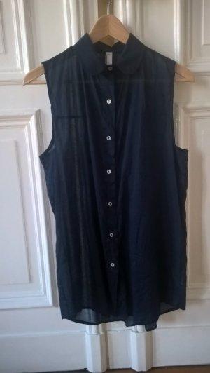 Lange Bluse ohne Arm