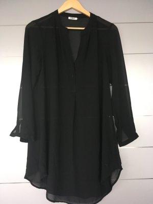 Lange Bluse/Tunika Gr. 36 schwarz