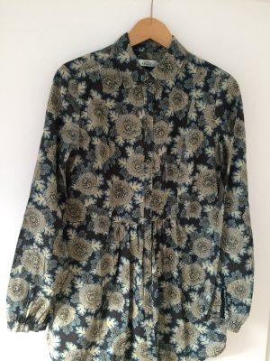 Lange Bluse von 0039 Italien -langärmlig im schönen flower Print