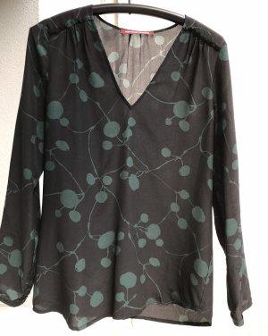 Lange Bluse von Comptoir mit Blumen/Blätter Muster