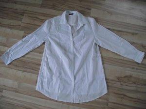 Lange Bluse weiß von MiaModa (119-BHB)