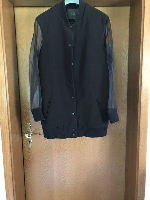 YAS College Jacket black