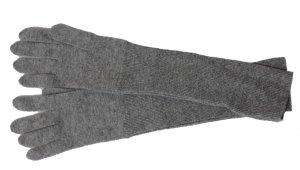 Lange Damenhandschuhe zu Ballkleidern