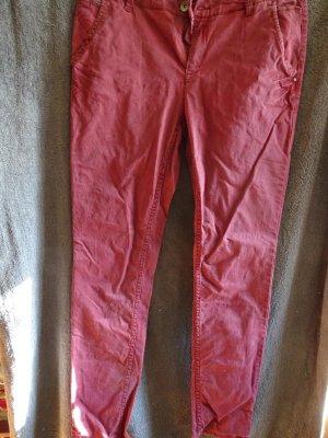 lange (dunkel)rote jeans von esprit