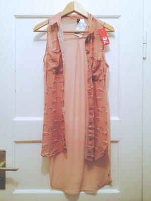 lange Flamingo Bluse