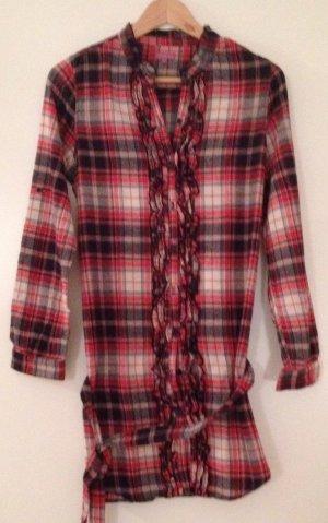 Lange Flanell-Bluse in XS von SUZANNA