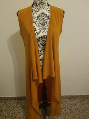 lange gelb-orange Weste