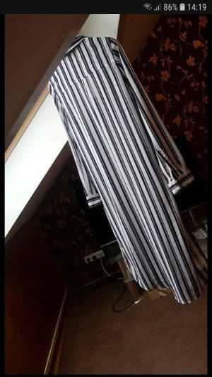 Sfera Robe chemisier blanc-noir