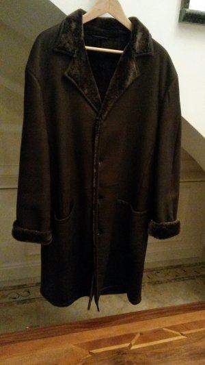 Windsor Fur Jacket dark brown