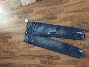 lange girlfriend jeans