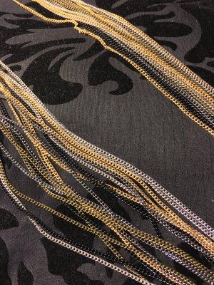 Lange Halskette mehrfarbig