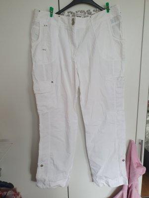 Bonita Jersey Pants white