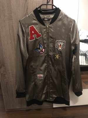 Lange Jacke aus Velours