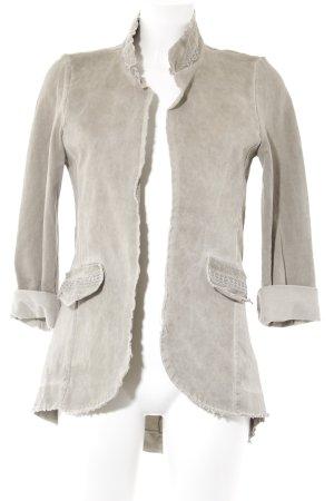 Long Jacket grey brown-light grey urban style