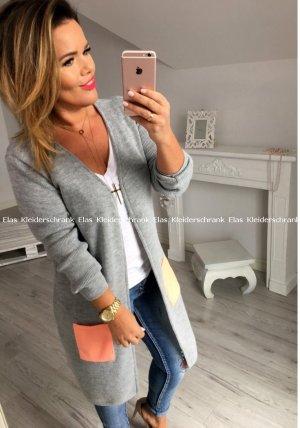 Lange Jacke oversize S-XL