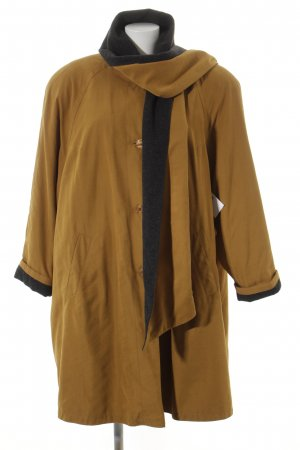Long Jacket sand brown-anthracite casual look