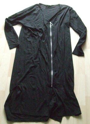 Minimum Chaqueta estilo camisa negro tejido mezclado