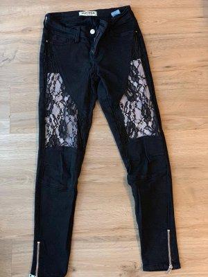 Tally Weijl Drainpipe Trousers black