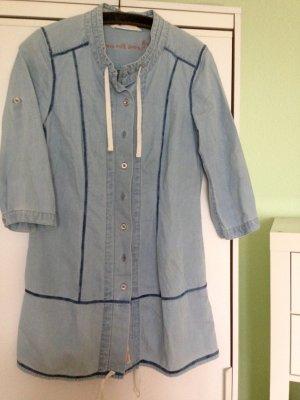 Lange Jeansbluse/ kurzes Jeanskleid