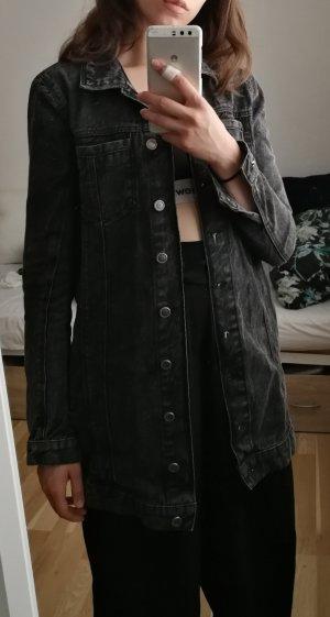 lange Jeansjacke Asos