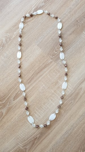 Link Chain white-brown