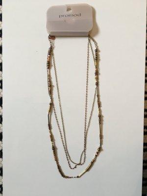 Lange Kette Bronze-Kupfer