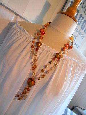 Chain multicolored glas
