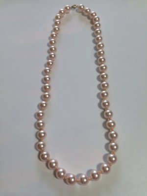Collier de perles rosé-rose clair