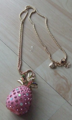 Collana oro-rosa