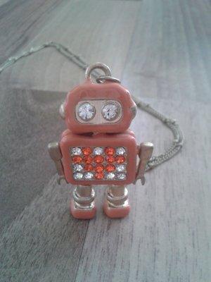 Lange Kette mit Roboter