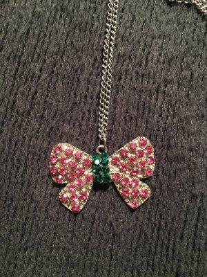 Collana rosa-verde