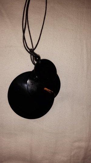 Lange Kette, schwarz